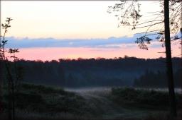 zonsopkomst Ardennen